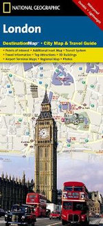 London : Destination City Maps - National Geographic Maps