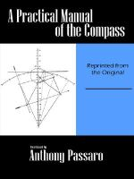 A Practical Manual of the Compass - Anthony Passaro