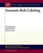 Semantic Role Labeling - Martha Palmer