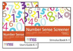 Number Sense Screener (NSS) K-1, Research Edition : Record Sheets, Pack of 25 - Nancy C. Jordan
