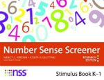 Number Sense Screener (NSS) K-1, Research Edition : Stimulus Book - Nancy C. Jordan