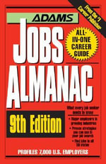 The Adams Jobs Almanac : Adams Jobs Almanac - Adams Media