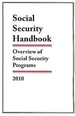 Social Security Handbook 2010 : Overview of Social Security Programs - Federal Government
