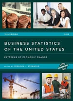 Business Statistics of the United States 2014 : Patterns of Economic Change