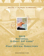 2015 National Zip Code Directory - U.S. Postal Service