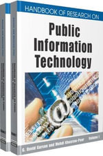 Handbook of Research on Public Information Technology - G. David Garson