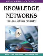 Knowledge Networks : The Social Software Perspective
