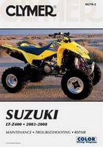 Clymer Suzuki LT-Z400 2003-2008 - Jon Engelman