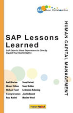 SAP Lessons Learned--Human Capital Management : SAP Experts Share Experiences to Directly Impact Your Next Initiative - Lashonda Rahming