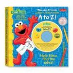 Elmo and Friends Learn to Draw from A to Z! : Help Elmo Find the Zebra! [With CDROM and Drawing Pad] - Tom Brannon