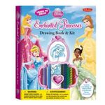 Learn to Draw Disney's Enchanted Princesses Drawing Book & Kit : Includes Everything You Need to Draw Ariel, Cinderella, Rapunzel, and Your Other Favorite Disney Princesses! - Disney Storybook Artists