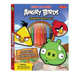 Learn to Draw Angry Birds Drawing Book & Kit : Includes Everything You Need to Draw Your Favorite Angry Birds Characters! - Walter Foster Creative Team