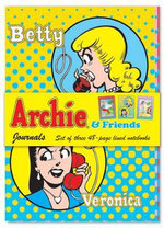 Archie & Friends Journals : Set of Three 48-Page Lined Notebooks - Walter Foster Creative Team