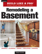 Remodeling A Basement, Revised Edition :  Home Series 4 - Roger German