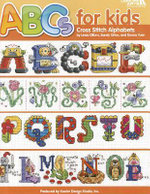 ABC's for Kids Cross Stitch Alphabets - Kooler Design Studio