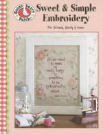 Gooseberry Patch Sweet & Simple Embroidery : Sweet & Simple Embroidery (Leisure Arts #4255) - Gooseberry Patch