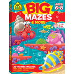 Big Mazes & More : Ages 6-8 - School Zone Publishing Company