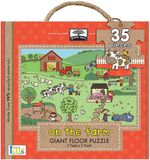 Green Start on the Farm Giant Floor Puzzle : Green Start Giant Floor Puzzles - Jillian Phillips