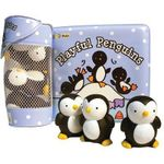 Float Alongs : Playful Penguins (Count-Along Rhyme Floatable Bath Book) - Ikids