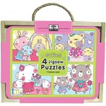 Innovative Kids Jigsaw Puzzle Box Sets: Cuties : (4 x 12 Piece Puzzles) - Innovative Kids