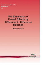 The Estimation of Causal Effects by Difference-in-Difference Methods - Michael Lechner