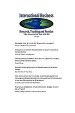 International Business : Research, Teaching and Practice. The Journal of the AIB-SE