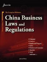 China Business Laws and Regulations : The Practitioner's Guide to Social Enterprise