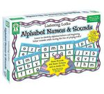 Alphabet Names & Sounds : Learn to Identify Alphabet Letters and Beginning Letter Sounds While Having the Fun of Playing Lotto! - Key Education Publishing