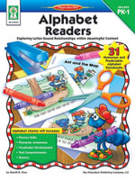 Alphabet Readers, Grades PK - 1 : Exploring Letter-Sound Relationships within Meaningful Content - M. S. Sherrill B. Flora