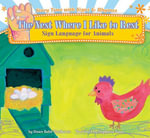 Nest Where I like to Rest : Sign Language for Animals  eBook - Dawn Babb Prochovnic