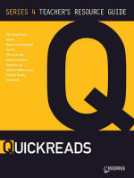 Q Reads Series 4 Teacher's Guide CD