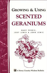 Growing & Using Scented Geraniums : Storey's Country Wisdom Bulletin A-131 - Judy Lewis