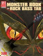 Monster Book of Rock Bass Tab - Cherry Lane Music