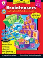 Brainteasers, Grades 2 - 3 - Carson-Dellosa Publishing