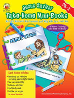 Jesus Saves! Take-Home Mini-Books, Grades PK - 2 : His Life, His Love, His Promises, and Why Kids Can Trust Him - Sandy Wardman
