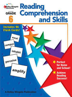 Reading Comprehension and Skills, Grade 6 - Carson-Dellosa Publishing