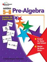 Pre-Algebra, Grades 5 - 8 - Carson-Dellosa Publishing