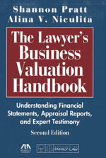 The Lawyer's Business Valuation Handbook - Shannon P. Pratt