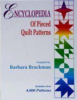 eBook Encyclopedia Of Pieced Quilt Patterns - Barbara Brackman