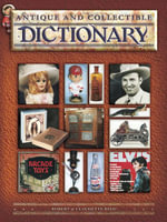eBook Antique and Collectible Dictionary - Robert Reed