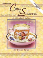 eBook Collectible Cups And Saucers Identification And Values - Jim Harran