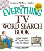 The Everything TV Word Search Book : A New Season of TV Puzzles - with No Reruns! - Charles Timmerman