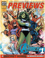 Previews March 2015 : Issue 318 - Marty Grosser