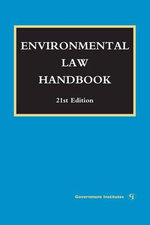 Environmental Law Handbook - Daniel M. Steinway