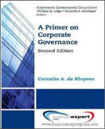 A Primer on Corporate Governance - Cornelis A. De Kluyver
