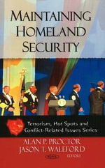 Maintaining Homeland Security :  The Collections Operations Model