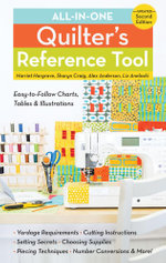 All-in-One Quilter's Reference Tool : Updated - Harriet Hargrave