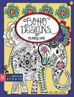 Boho Designs Coloring Book : 18 Fun Designs + See How Colors - Valori Wells