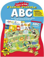 Learn and Play: Floor Puzzle ABC : Give Kids a Head Start on Learning the Alphabet with This Educational Activity Set! - Pauline Molinari