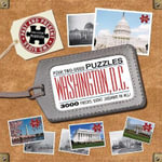 Washington D.C. Past to Present Puzzle  Four two-sided puzzles : 3000 pieces. Eight jigsaws in all! - Editors Of Thunder Bay Press